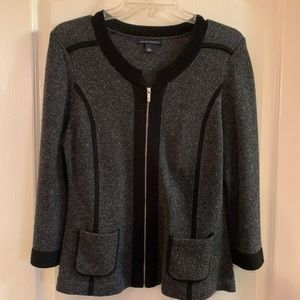 Banana Republic Wool/Silk Blend Cardigan - L